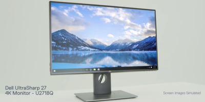 Dell Ultrasharp 27' 4k monitor